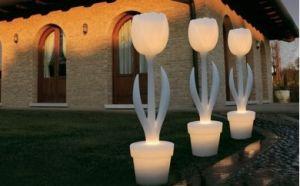 TULIP XL - tulipano con illuminazione per esterno