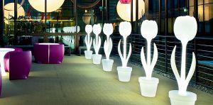 TULIP XL - tulipano con illuminazione per interno