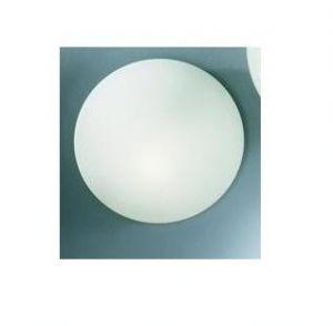 RO3618-35 - PLAFONIERA IN VETRO SATINATO DIAM.35cm- 2X75W E27