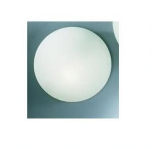 RO3618-25 - PLAFONIERA IN VETRO SATINATO DIAM.25 1X75W E27