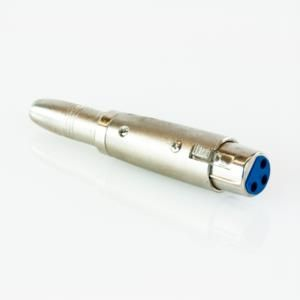 Adattatore presa XLR 3 poli -> presa Jack 6,3 mm